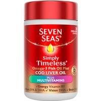 Seven Seas One A Day Pure Cod Liver Oil Plus Multivitamins