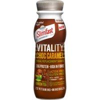 Slim-Fast Vitality Milkshake Bottle Choc Caramel Fusion
