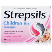 Strepsils for Children Strawberry Sugar Free
