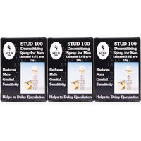Stud 100 Desensitizing Spray For Men - Triple Pack