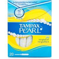 Tampax Pearl Regular Tampons