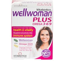 Vitabiotics Wellwoman Plus Omega 3-6-9