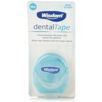 Wisdom Mint Waxed Dental Tape