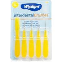 Wisdom Interdental Brushes Yellow