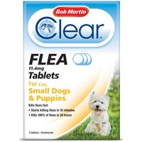 Bob Martin Flea Tablets for Small Dogs Under 11kg & Puppies