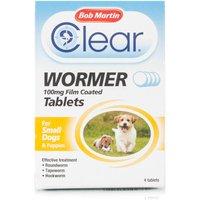 Bob Martin Wormer Tablets for Small Dogs & Puppies