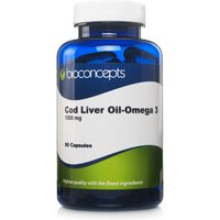 Bioconcepts Cod Liver Oil Soft Gels 1000mg