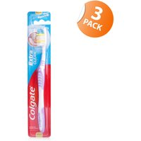 Colgate Extra Clean Toothbrush - Triple Pack