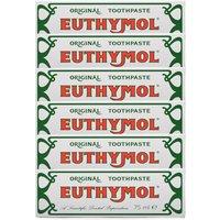 Euthymol Original Toothpaste - 6 Pack