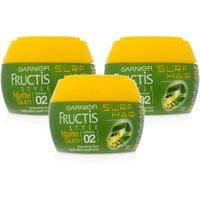 Garnier Fructis Surf Texturising Gum Pot - 3 Pack