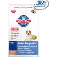 Hills Science Plan Canine Mature Adult 7+ Active Longevity Medium Lamb & Rice
