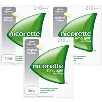 Nicorette 2mg Original Gum - 630 Pieces