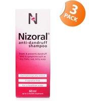 Nizoral Anti-Dandruff Shampoo - Triple Pack