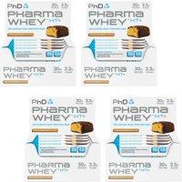 Pharma Whey Bar Choc Peanut 12 x 75g Four Pack
