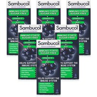 Sambucol Immuno Forte Sugar Free 120ml - 6 Pack