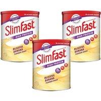 Slimfast Powder Tin Banana - Triple Pack