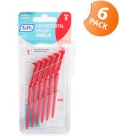 Tepe Angled Interdental Brush Red - 6 Pack
