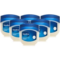 Vaseline Pure Petroleum Jelly - 6 Pack