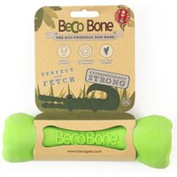 Beco Dog Chew Toys Bone Treat - Green Medium