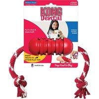 Kong Dog Toys Dental + Rope Dog Chew Toy Medium