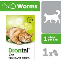Drontal Cat Wormer 96 Tablets