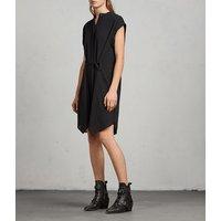 Meda Textured Shirt Dress
