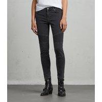Biker Ankle Skinny Jeans
