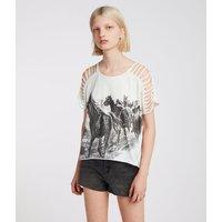 Riders Slash Shoulder T-Shirt