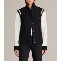 Bordin Striped Baseball Jacket