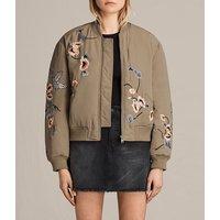 Margot Embroidered Bomber Jacket