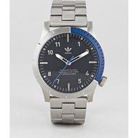 Adidas Z03 Cypher Bracelet Watch In Silver - Silver