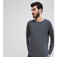 Nudie Jeans Co Otto Stripe Long Sleeve T-Shirt - Indigo