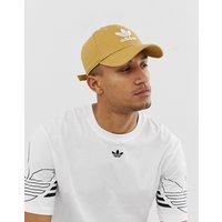 adidas Originals Trefoil Cap in beige - Beige
