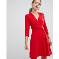 Karen Millen folded crepe dress - Red
