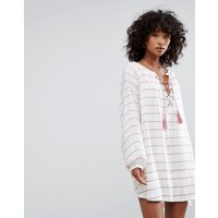 d.RAd.RA Montecito Tunic Dress - Turkish stripe