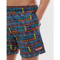 Columbia Printed swim shorts in shark print - Shark print