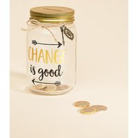 Sass & Belle Change Is Good Money Jar - Multi