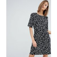 WarehouseWarehouse Ditsy Floral Shift Dress - Black pattern
