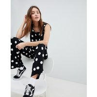 JDY spot sleeveless jumpsuit - Multi
