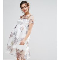 Chi Chi London MaternityChi Chi London Maternity Floral Midi Dress - Multi