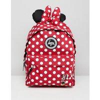 Mochila roja con diseño de Minnie Mouse de Disney de Hype