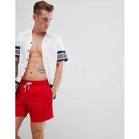 Polo Ralph Lauren Red Hawaiian Swim Shorts - Red