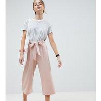 Falda pantalón con cintura anudada Mix & Match de ASOS DESIGN Petite