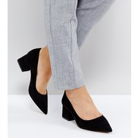 Zapatos de tacón grueso medio de corte ancho SIMPLY de ASOS