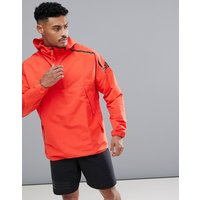 Adidas Zne Hooded Anorak In Red Cf0645 - Red