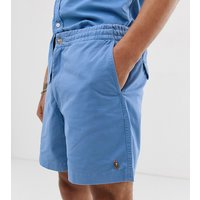 Polo Ralph Lauren Exclusive to Asos multi player logo prepster shorts in light blue - Isle blue
