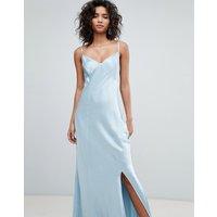 Ghost bridesmaid satin maxi cami dress