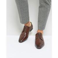 Zapatos Derby marrones de vestir de Silver Street