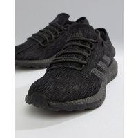 Adidas Running Pureboost Trainers In Triple Black - Black