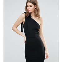 Oh My Love TallOh My Love Tall One Shoulder Mini Dress - Black